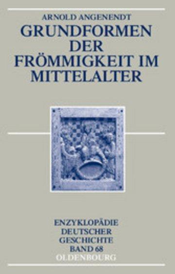 eBook Grundformen der Frömmigkeit im Mittelalter Cover