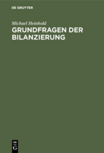 eBook Grundfragen der Bilanzierung Cover