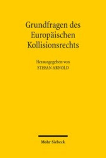 eBook Grundfragen des Europäischen Kollisionsrechts Cover