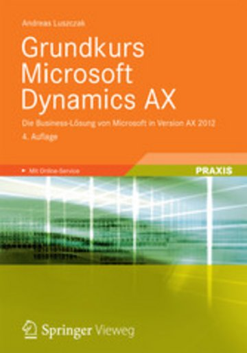 eBook Grundkurs Microsoft Dynamics AX Cover