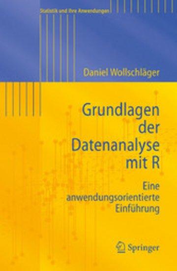 eBook Grundlagen der Datenanalyse mit R Cover