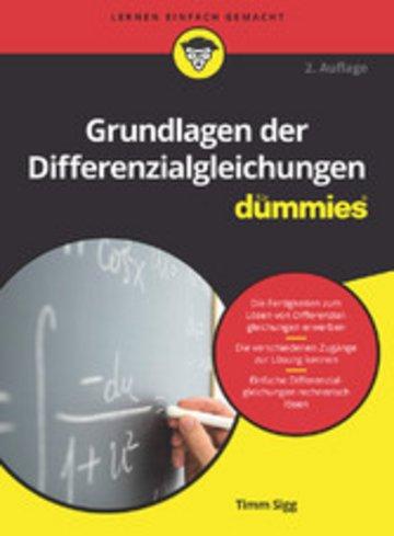 eBook Grundlagen der Differenzialgleichungen für Dummies Cover