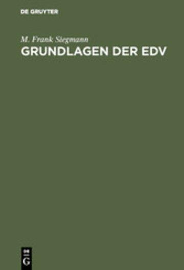 eBook Grundlagen der EDV Cover