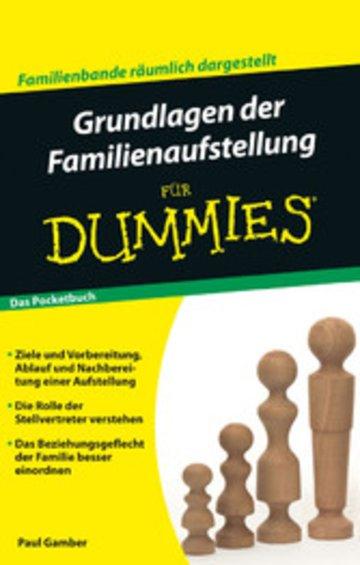 eBook Grundlagen der Familienaufstellung für Dummies Pocketbuch Cover