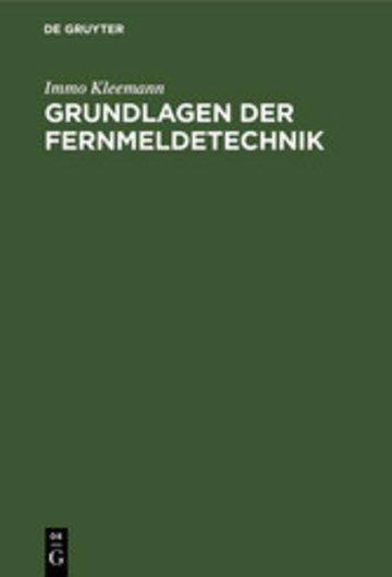 eBook Grundlagen der Fernmeldetechnik Cover