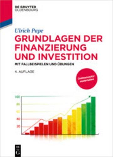 eBook Grundlagen der Finanzierung und Investition Cover