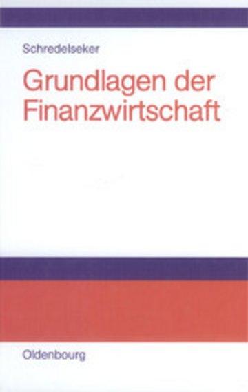 eBook Grundlagen der Finanzwirtschaft Cover