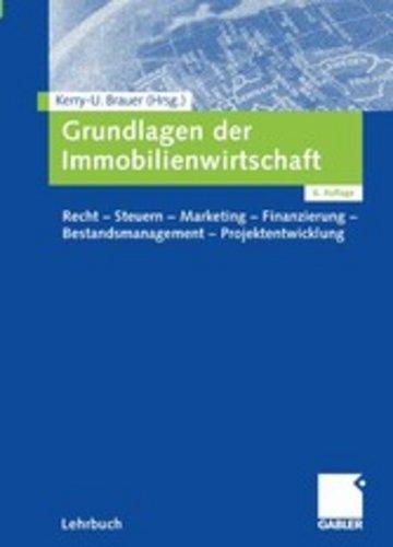 eBook Grundlagen der Immobilienwirtschaft Cover