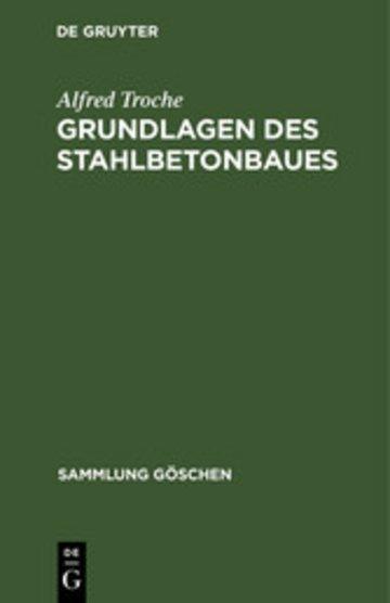 eBook Grundlagen des Stahlbetonbaues Cover