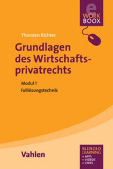 eBook Grundlagen des Wirtschaftsprivatrechts Cover