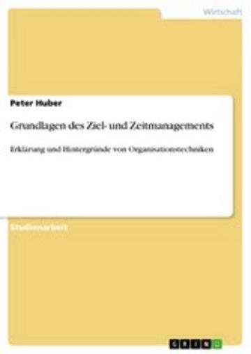 eBook Grundlagen des Ziel- und Zeitmanagements Cover