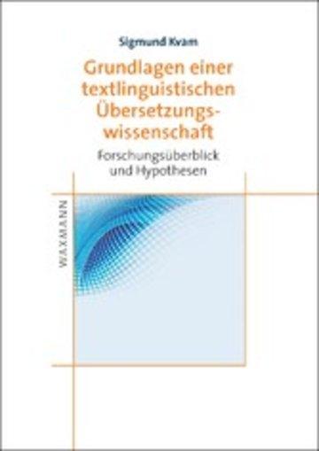 eBook Grundlagen einer textlinguistischen Übersetzungswissenschaft Cover