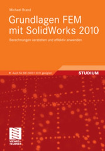 eBook Grundlagen FEM mit SolidWorks 2010 Cover