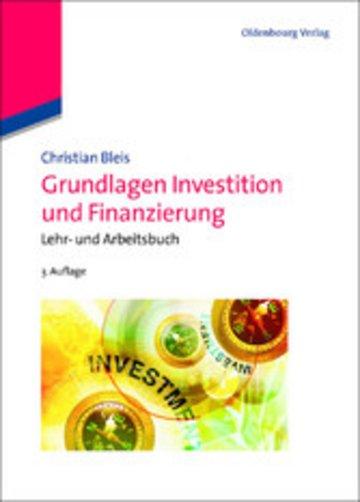 eBook Grundlagen Investition und Finanzierung Cover