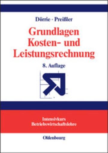 eBook Grundlagen Kosten- und Leistungsrechnung Cover