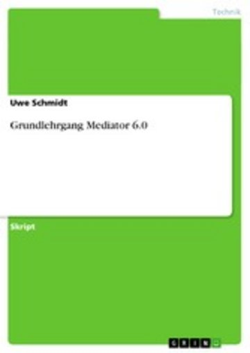 eBook Grundlehrgang Mediator 6.0 Cover