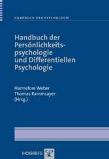 eBook Handbuch der Persönlichkeitspsychologie und Differentiellen Psychologie Cover