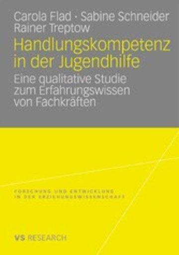 eBook Handlungskompetenz in der Jugendhilfe Cover