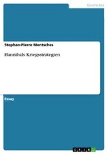 eBook Hannibals Kriegsstrategien Cover