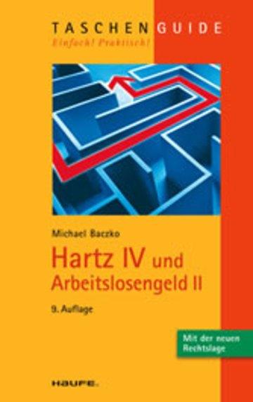 eBook Hartz IV und Arbeitslosengeld II Cover