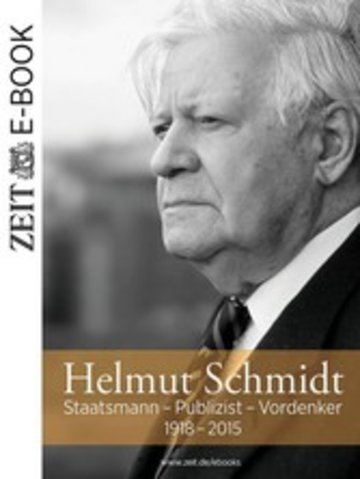 eBook Helmut Schmidt Cover