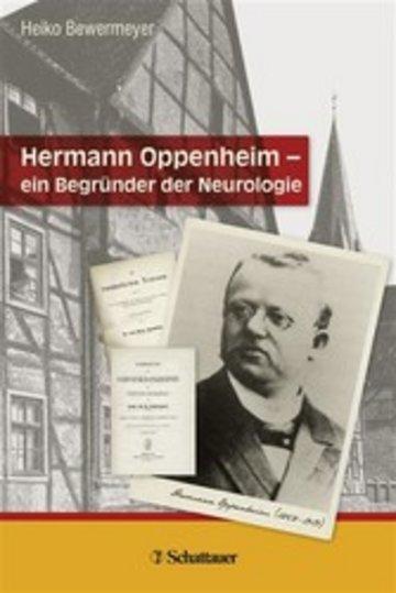 eBook Hermann Oppenheim - ein Begründer der Neurologie Cover