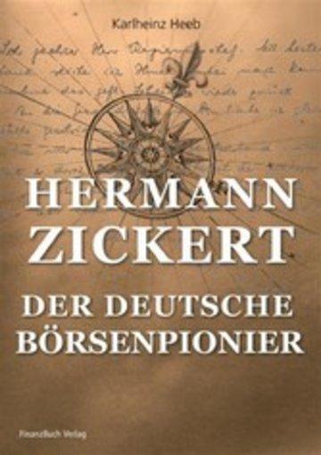 eBook Hermann Zickert - Der deutsche Börsenpionier Cover