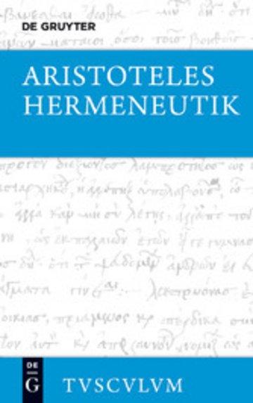 eBook Hermeneutik / Peri hermeneias Cover