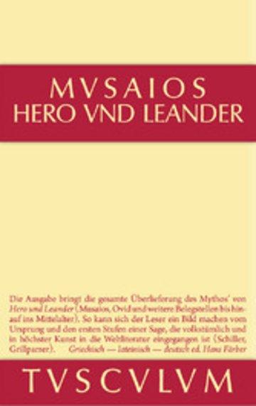 eBook Hero und Leander und die weiteren antiken Zeugnisse Cover
