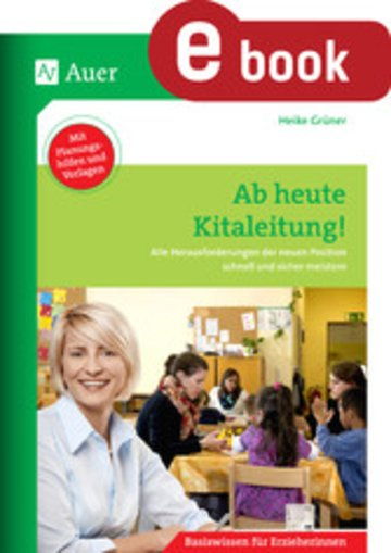 eBook Ab heute Kitaleitung Cover
