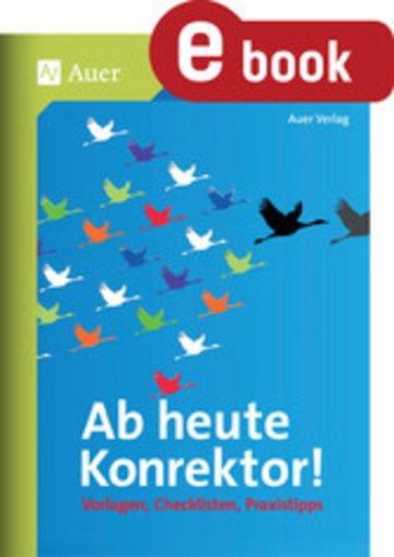 eBook Ab heute Konrektor Cover