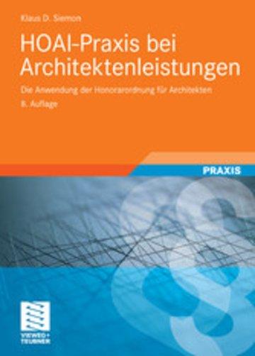 eBook HOAI-Praxis bei Architektenleistungen Cover