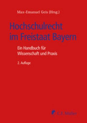 eBook Hochschulrecht im Freistaat Bayern Cover