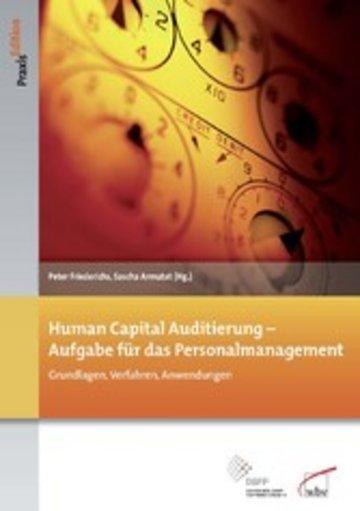 eBook Human Capital Auditierung - Aufgabe für das Personalmanagement Cover