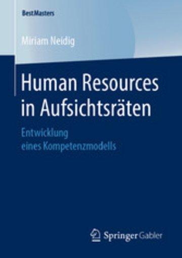 eBook Human Resources in Aufsichtsräten Cover