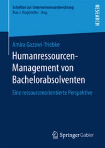 eBook Humanressourcen-Management von Bachelorabsolventen Cover