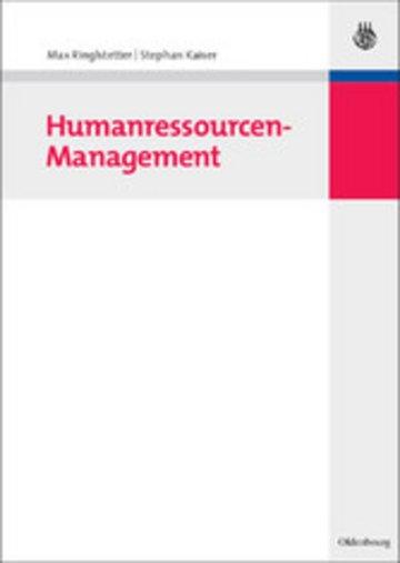 eBook Humanressourcen-Management Cover