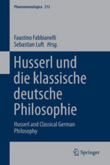 eBook Husserl und die klassische deutsche Philosophie Cover