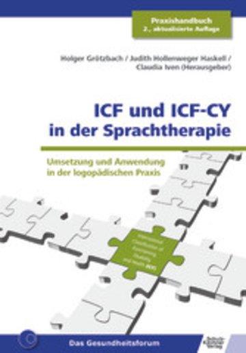 eBook ICF und ICF-CY in der Sprachtherapie Cover