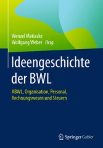 eBook Ideengeschichte der BWL Cover
