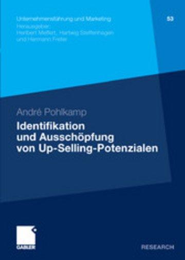 eBook Identifikation und Ausschöpfung von Up-Selling-Potenzialen Cover