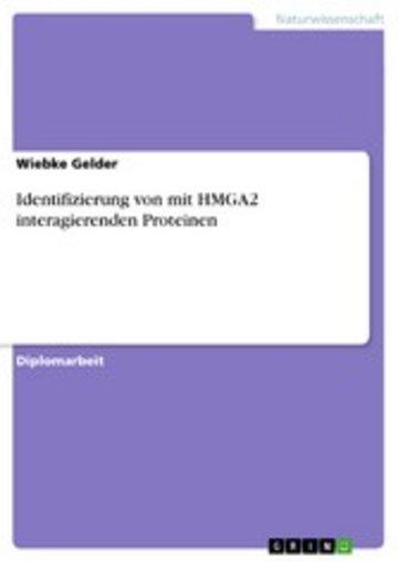 eBook Identifizierung von mit HMGA2 interagierenden Proteinen Cover