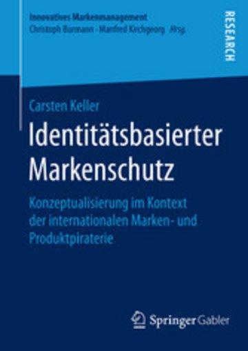 eBook Identitätsbasierter Markenschutz Cover