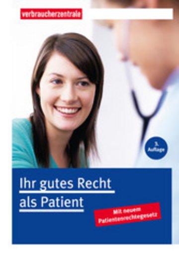 eBook Ihr gutes Recht als Patient Cover