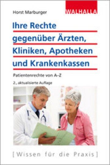 eBook Ihre Rechte gegenüber Ärzten, Kliniken, Apotheken und Krankenkassen Cover