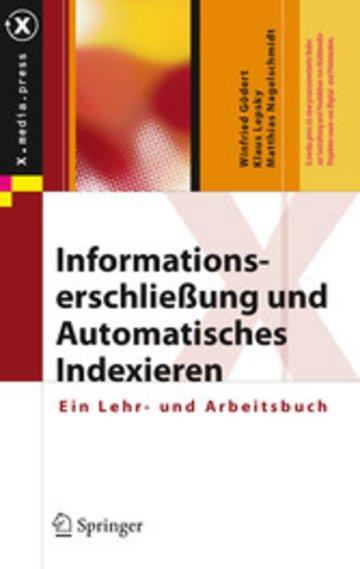 eBook Informationserschließung und Automatisches Indexieren Cover
