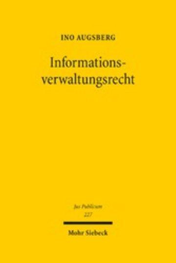 eBook Informationsverwaltungsrecht Cover