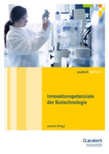 eBook Innovationspotenziale der Biotechnologie Cover