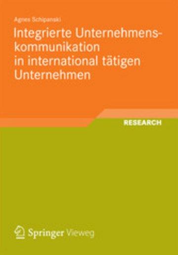 eBook Integrierte Unternehmenskommunikation in international tätigen Unternehmen Cover