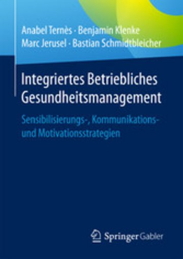 eBook Integriertes Betriebliches Gesundheitsmanagement Cover